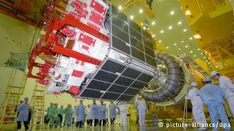 Спутник российской навигационной системы ГЛОНАСС
