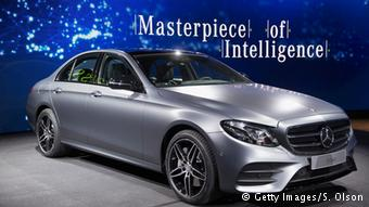 Презентация нового Mercedes E-Class