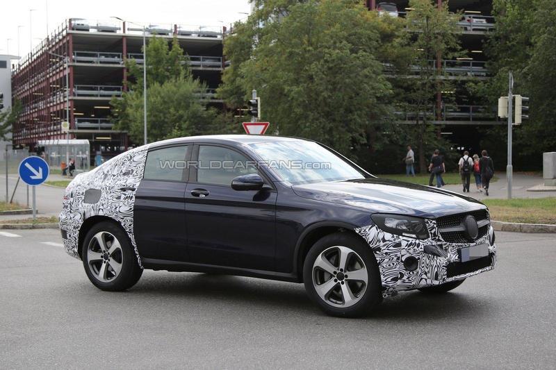 Mercedes GLC купе запущен в производство