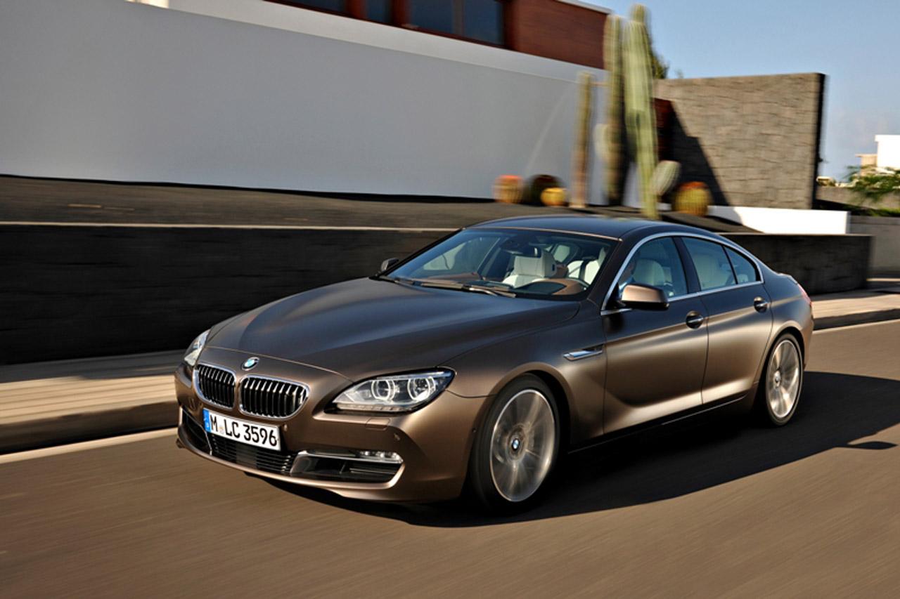 BMW 6 Series - лучший автомобиль бизнес класса 2015 года