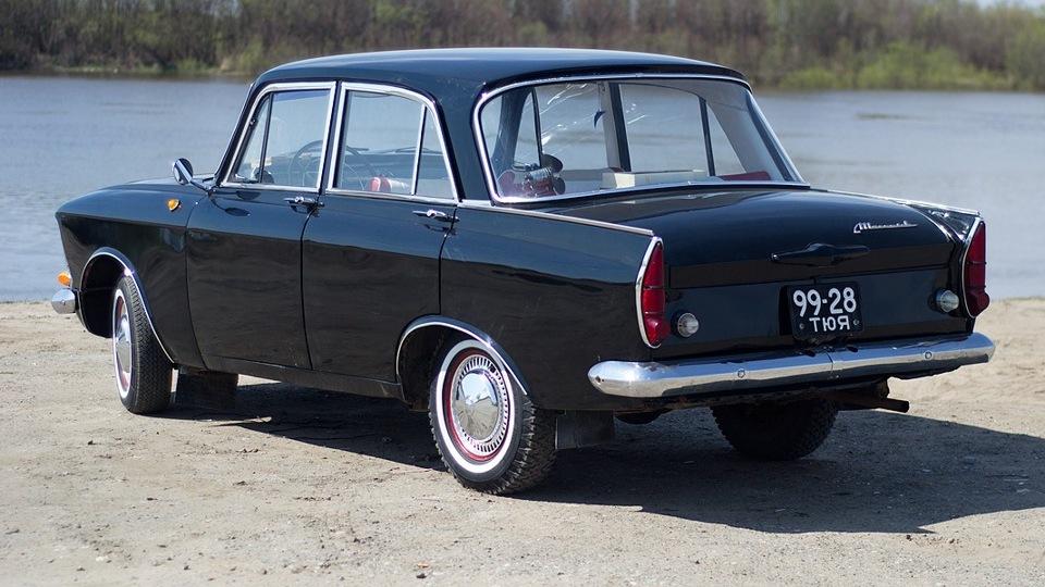 Москвич 408 - очень живучий автомобиль