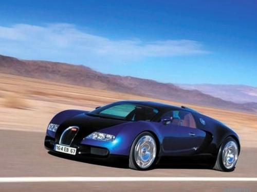 Bugatti Veyron – современный представитель гиперкаров