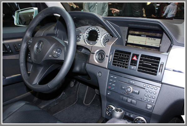 новый Mercedes Benz GLK