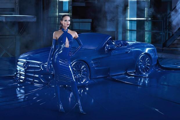 Наташа Поли в рекламе Mercedes-Benz