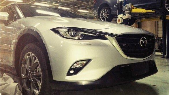 В Китае открыто производство Mazda CX-4