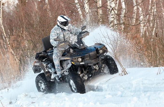 Stels ATV 800G Guepard: гепард сыроват