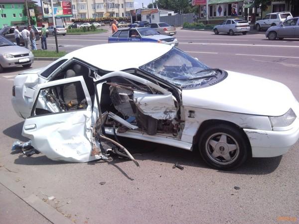 Авария и отсутствие страхового полиса