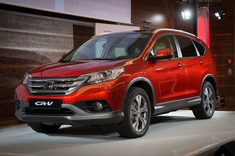 Новая Honda CR-V потрясла своим внешним видом
