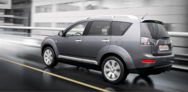технические характеристики Mitsubishi Outlander