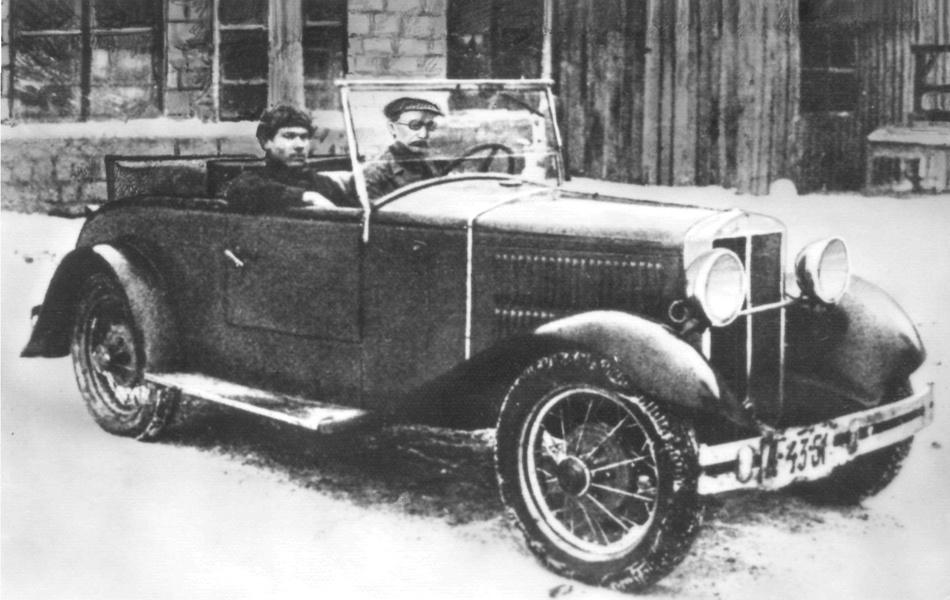НАТИ-2 - первый советский спортивный автомобиль