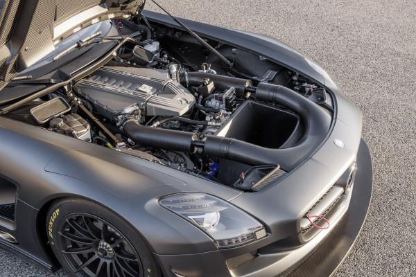 технические характеристики Mercedes SLS AMG