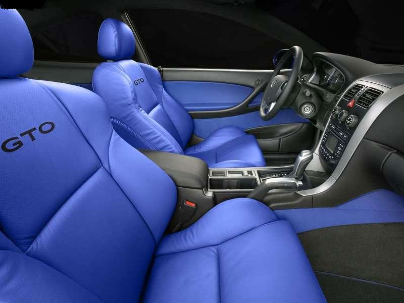 Салон современного Pontiac GTO JUDGE