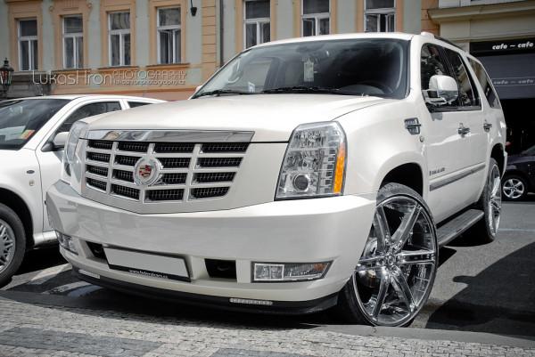 тест драйв Cadillac Escalade