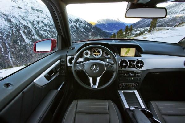 технические характеристики Mercedes-Benz GLK