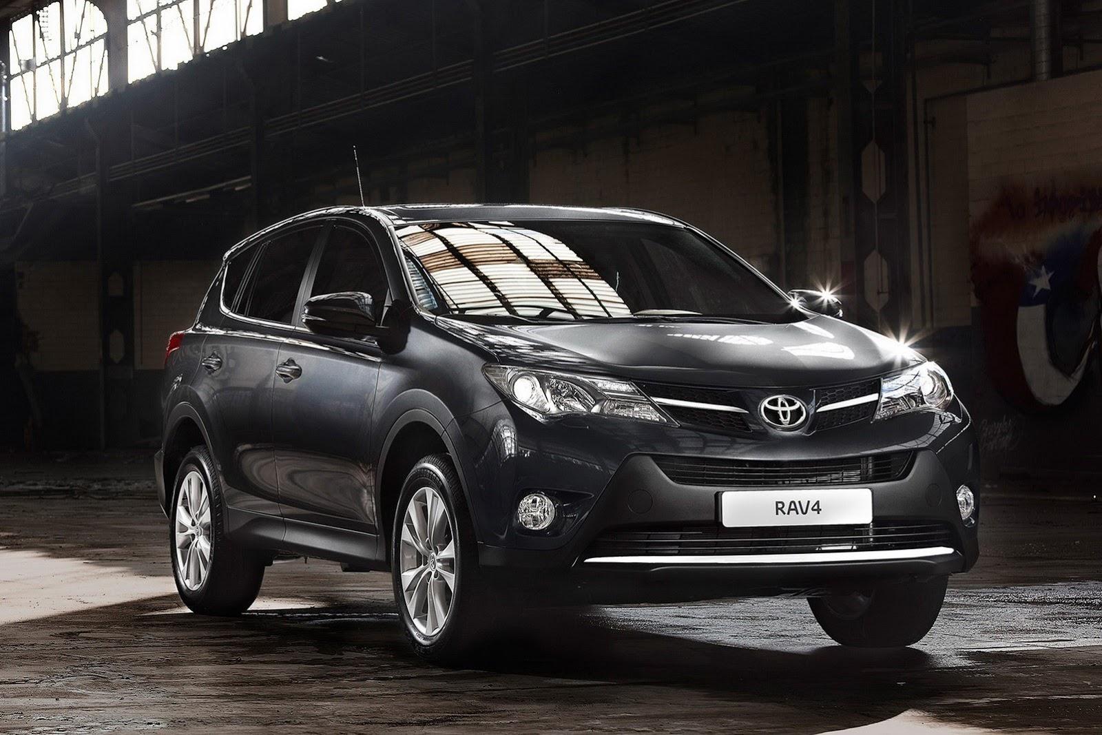Toyota RAV4 порадует Вас своими размерами и качественными материалами