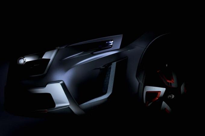 Subaru перешла на изготовление тизеров