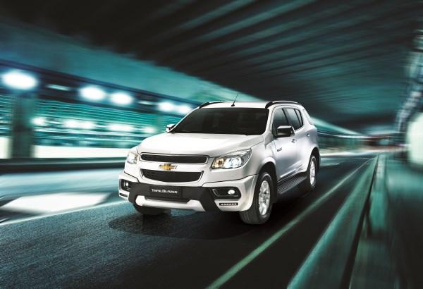 Комплектации Chevrolet TrailBlazer 2015 года