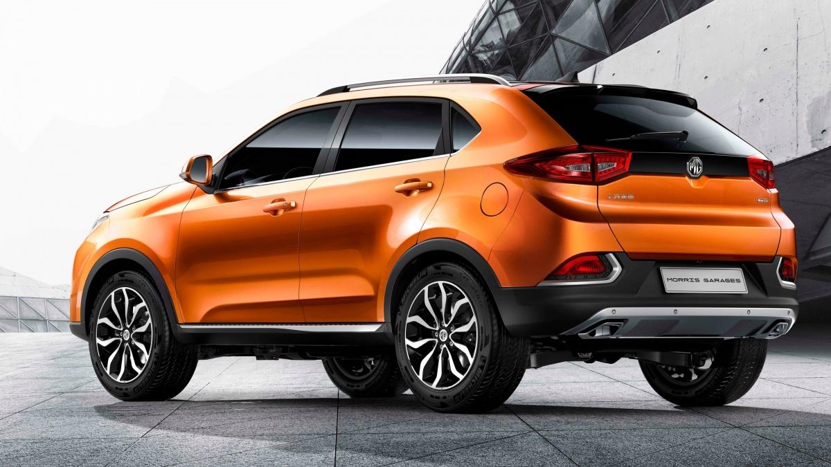 Через 3 месяца в Великобритании поступит в продажу MG GS, производимый в Китае на предприятии SAIC