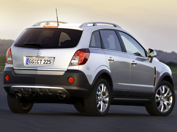 Технические характеристики Opel Antara 2015-2016