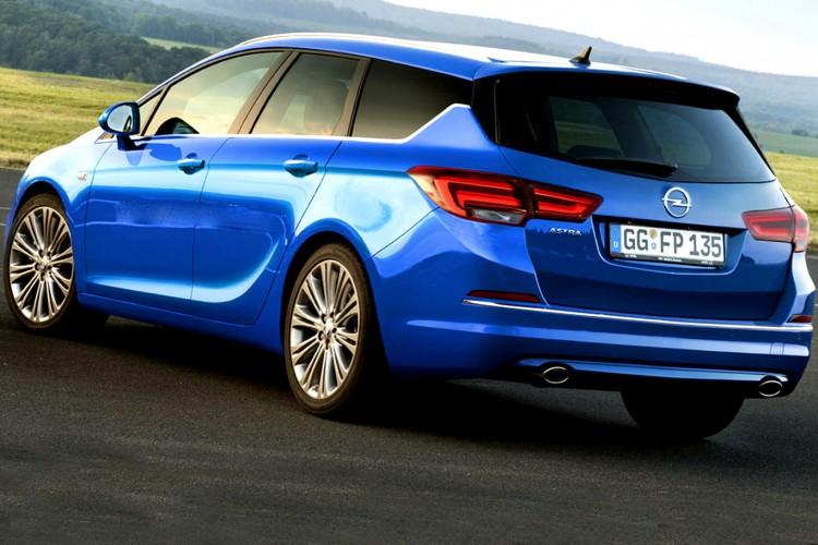 Технические характеристики Opel Astra  2015-2016 года