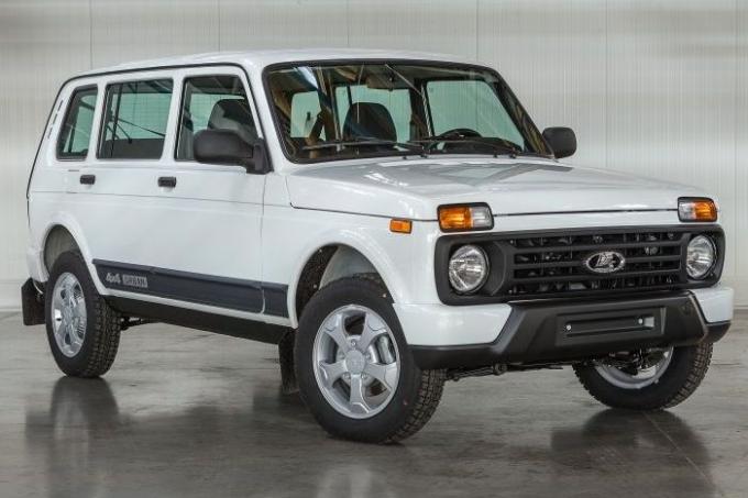 АвтоВАЗ «осемерил» 5-дверную Lada модификацией Urban