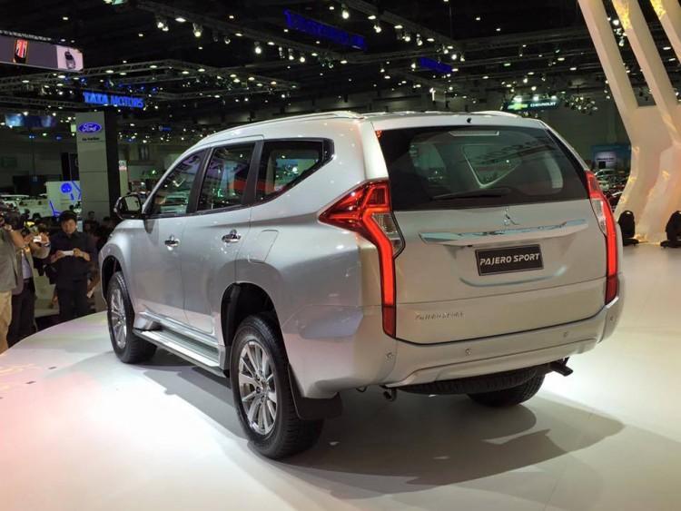Стоимость Mitsubishi Pajero Sport 2016