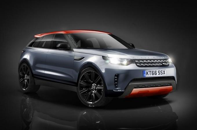 Range Rover Sport Coupe переделывают из Jaguar F-Pace