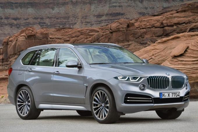 BMW X7 разделит платформу с Rolls-Royce Cullinan