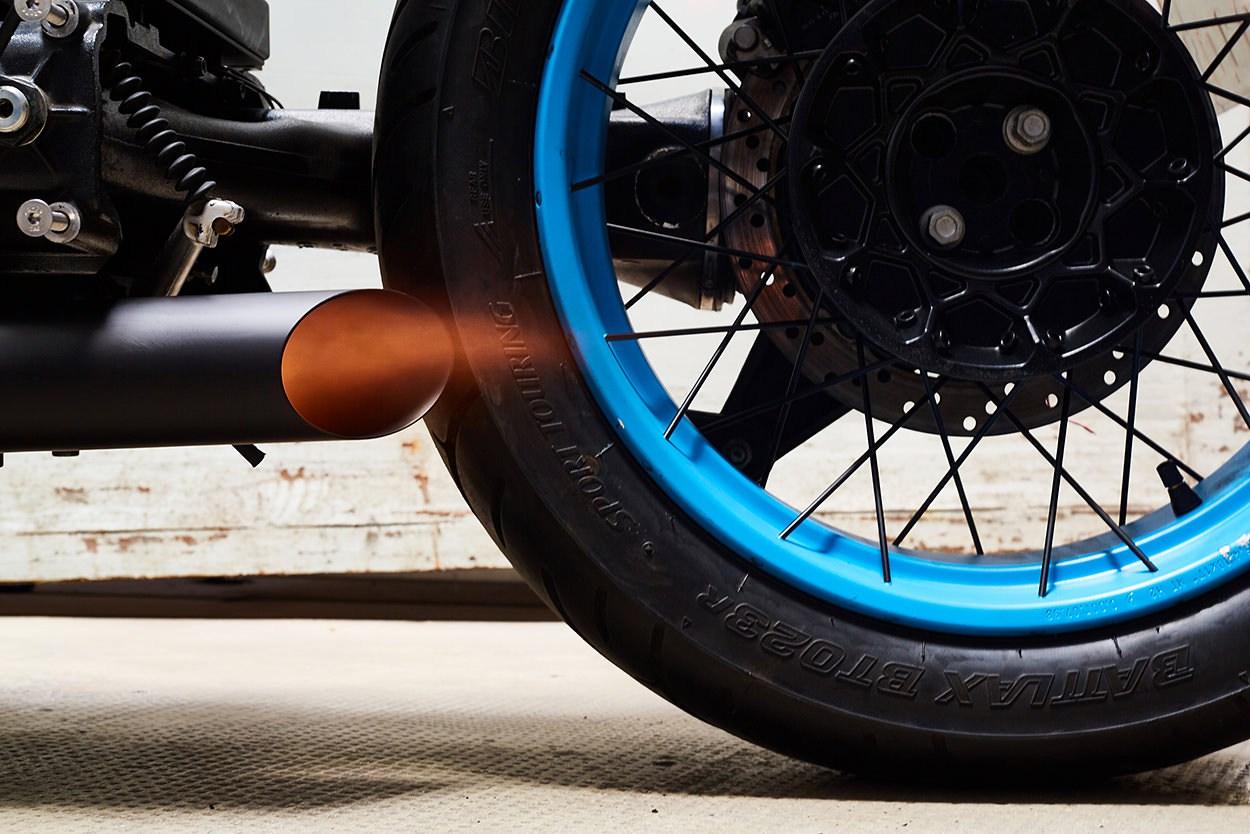 Кастом мотоцикла на основе модели BMW K100
