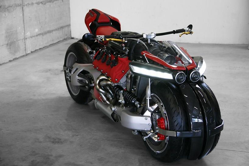 Четырехколесный байк с двигателем от Maserati