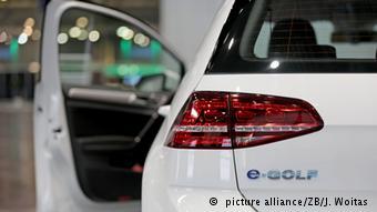 Электрический вариант модели Volkswagen Golf