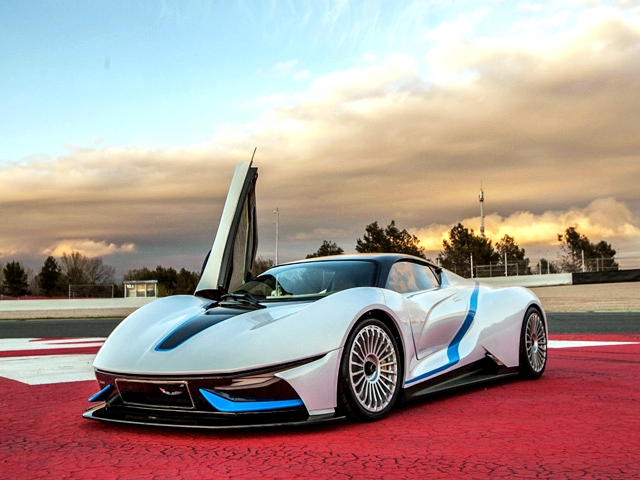Beijing Auto Electric Supercar: приземленная натура