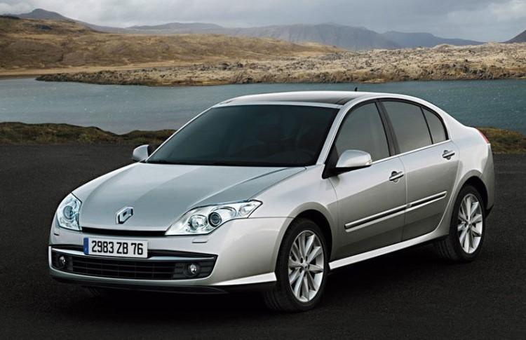 Renault Laguna хэтчбек в третьем поколении