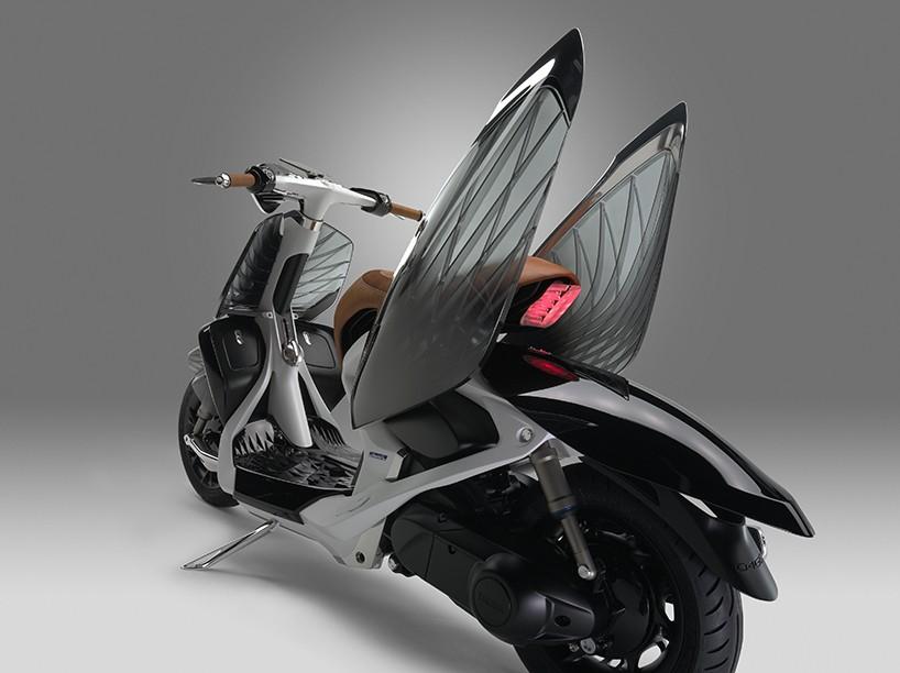 Yamaha представила скутер с крыльями лебедя