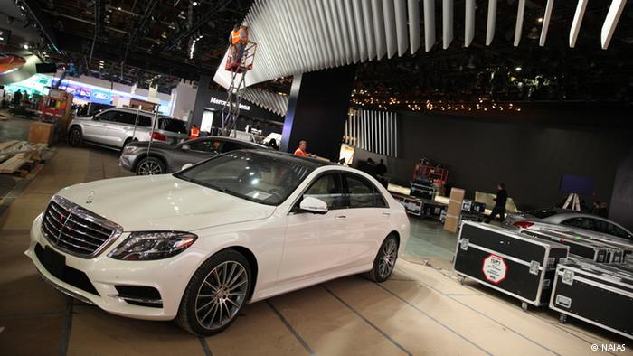 Новая модель Mercedes