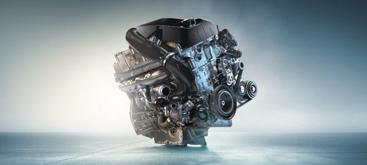 На фото двигатель M TwinPower Turbo