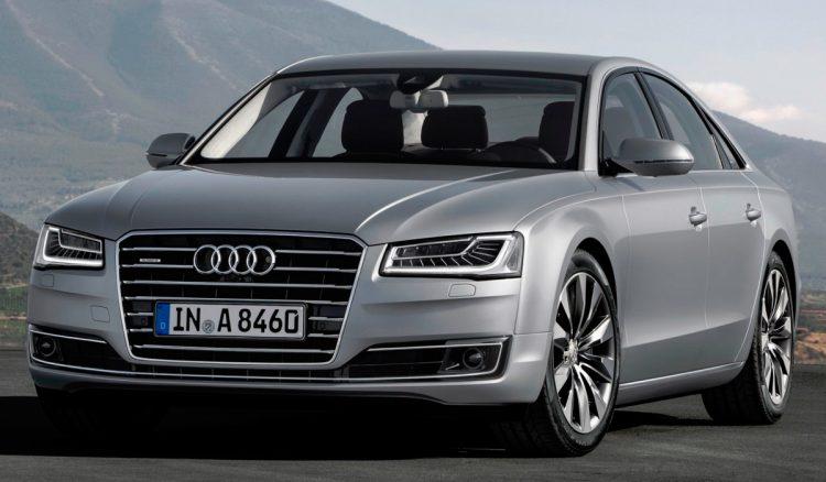Audi A8 2016 года выпуска