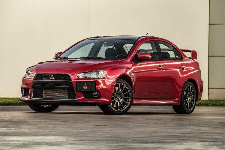 К старту готов - Mitsubishi Lancer Evolution