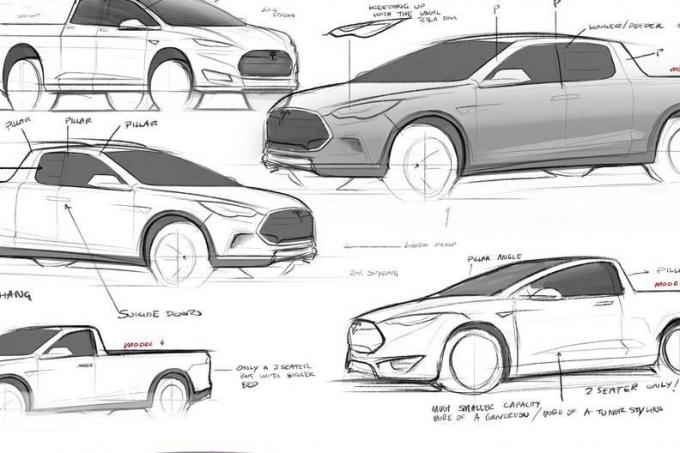 Tesla Model P: пикап подкрался незаметно…