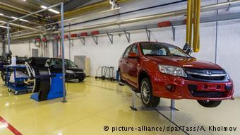 Производство Lada Granta в Тольятти