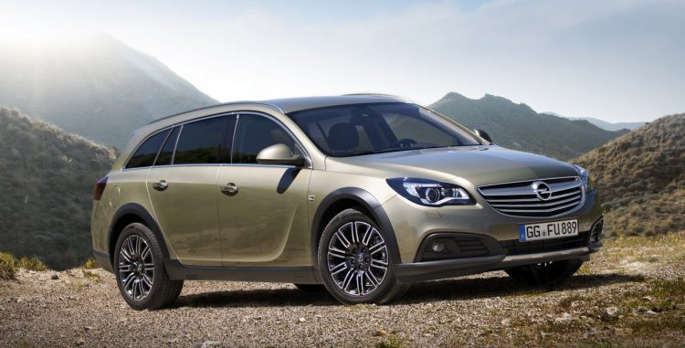 Opel Insignia Country Tourer (Опель Инсигния Кантри Турер)