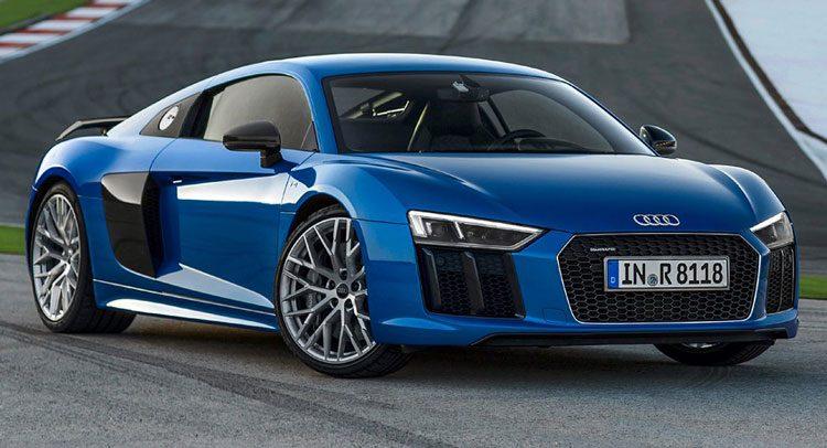 Audi R8 - самая быстрая Ауди на сегодня