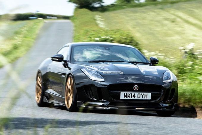 Jaguar F-Type Predator: настичь Porsche 911 Turbo