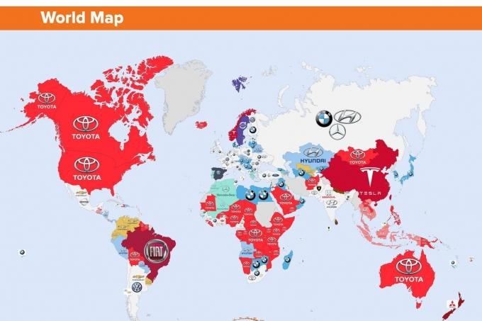 Toyota гуглят везде кроме России!