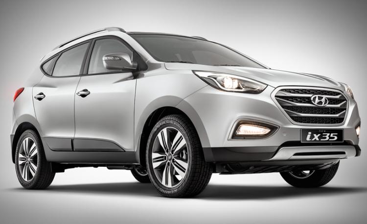 Hyundai IX35 2016 года в новом кузове