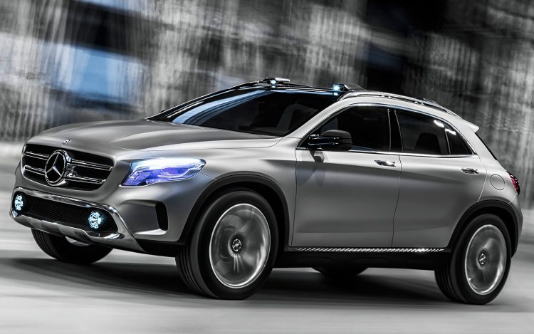 Mercedes-Benz GLA (Мерседес-Бенц GLA)
