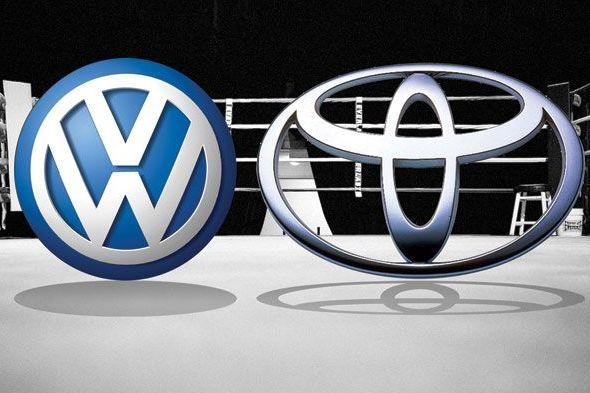 Volkswagen: впереди Тойоты всей!