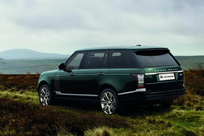 LAND ROVER Range Rover Holland and Holland – автомобиль с царским шиком!