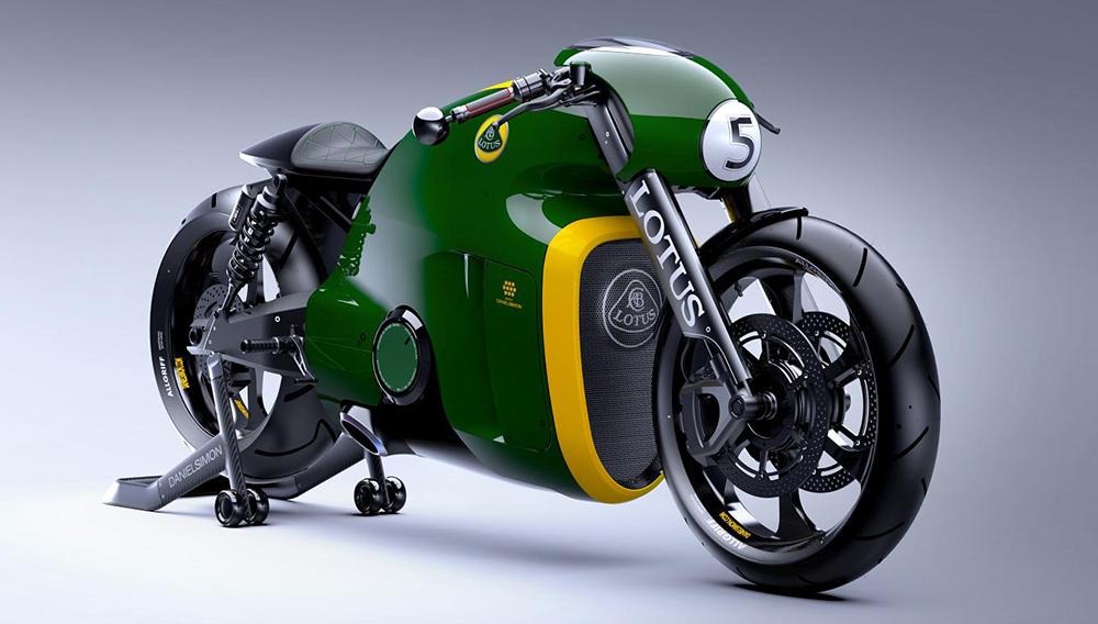 Уникальный байк Lotus C-01