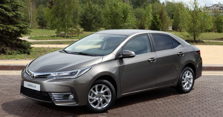 Toyota Corolla (Тойота Королла) Седан